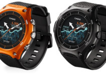 WSD-F10GN WSD-F10RG WSD-F10BK WSD-F10RD Casio Smart Outdoor Watch