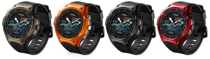 WSD-F10GN WSD-F10RG WSD-F10BK WSD-F10RD Casio Smart Outdoor Watch
