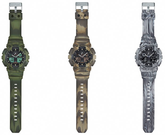 GA-100MM-3A, GA-100MM-5A, and GA-100MM-8A Bands