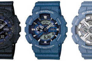GA110DC-1A GA110DC-2A GA110DC-2A7 G-Shock Denim Series