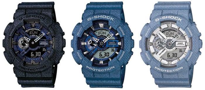 GA110DC-1A GA110DC-2A GA110DC-2A7 G-Shock GA-110 Denim Series