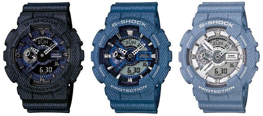 37b82764505 G-Shock GA-110DC and Baby-G BA-110DC Denim Series – G-Central G ...