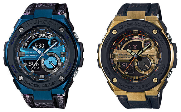G-Shock G-STEEL GST-200CP-2A and GST-200CP-9A