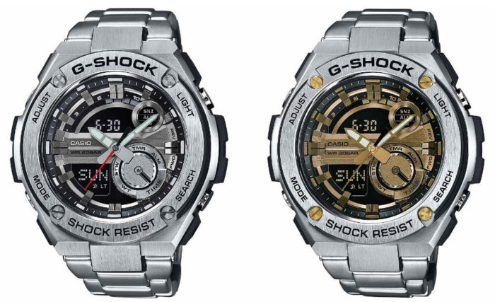 G-Shock G-STEEL  GST-210D-1A and GST-210D-9A