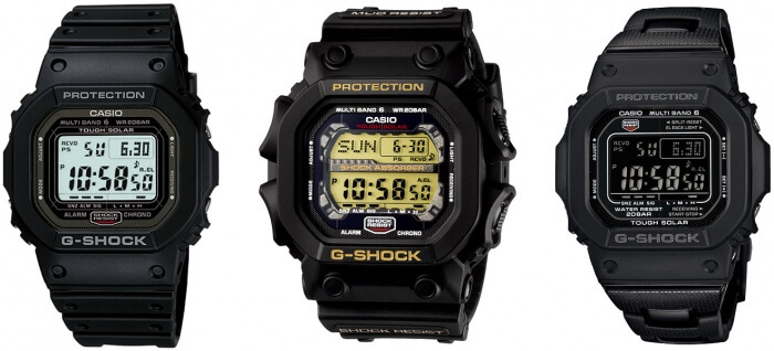 Japanese Domestic Market (JDM) G-Shock Watches