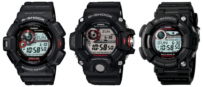 G-Shock Master of G Digital Watches