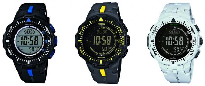 Casio Pro Trek PRG300 - PRG300-1A2 PRG300-1A9 PRG300-7