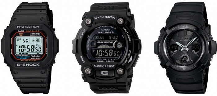 Tough Solar G-Shock Watches
