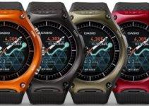 Casio Smart Outdoor Watch WSD-F10 Colors