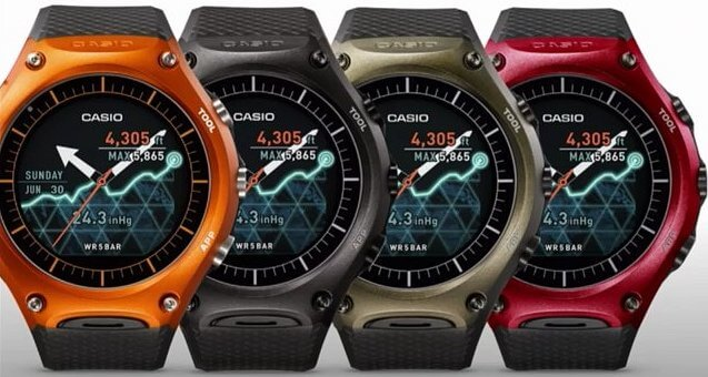 Casio Smart Outdoor Watch WSD-F10 Colors