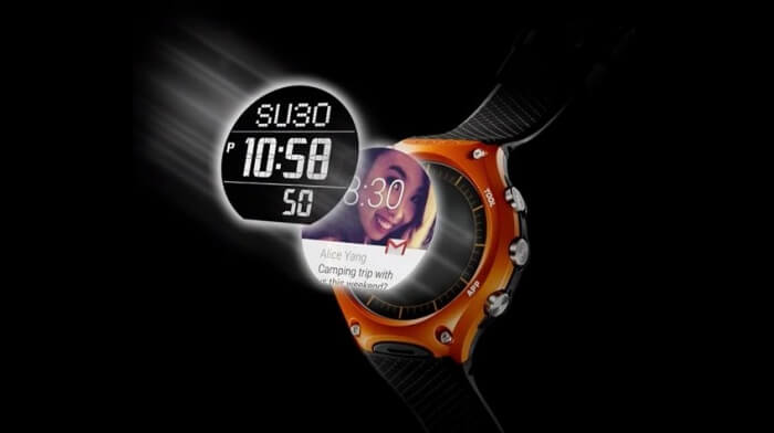 Casio Smartwatch WSD-F10 Dual Layer Display