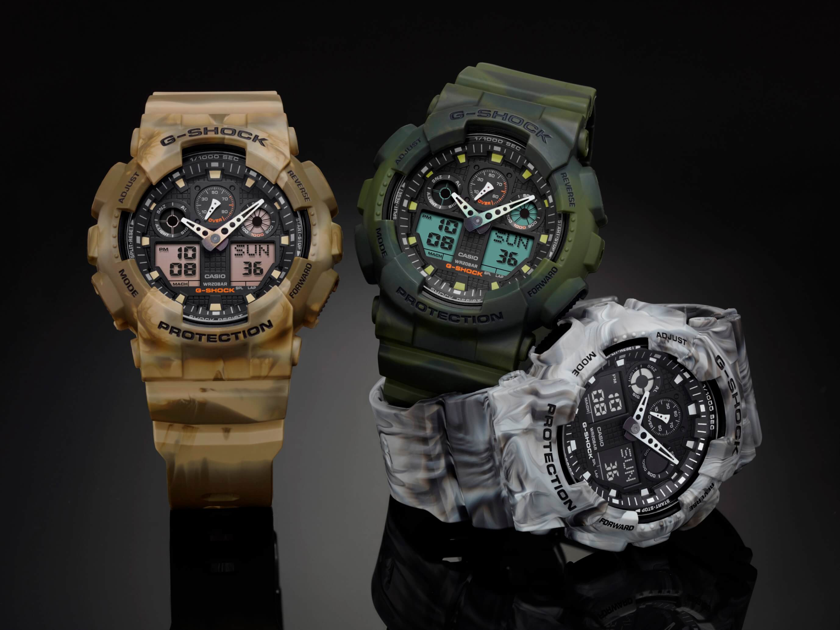 d6537a0735ef G-Shock GA-100MM Marble Edition Camouflage Series – G-Central G ...