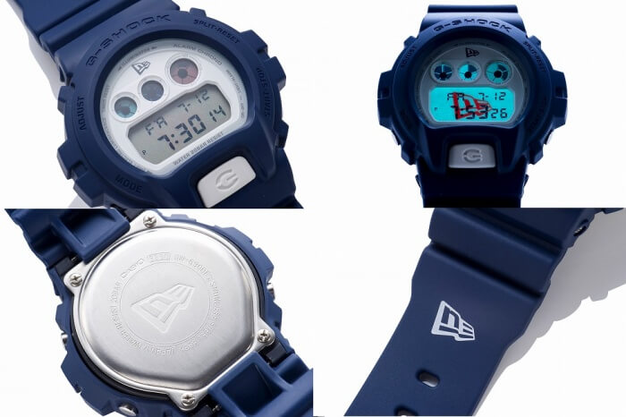 G-Shock x New Era DW-6900 Navy Watch 2016 Backlight and Engraved Case Back