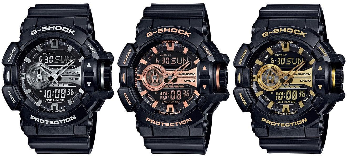 Casio G-Shock GA-400GB-1A GA-400GB-1A4 GA-400GB-1A9