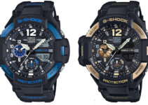 G-Shock Gravitymaster GA-1100-2B and GA-1100-9G