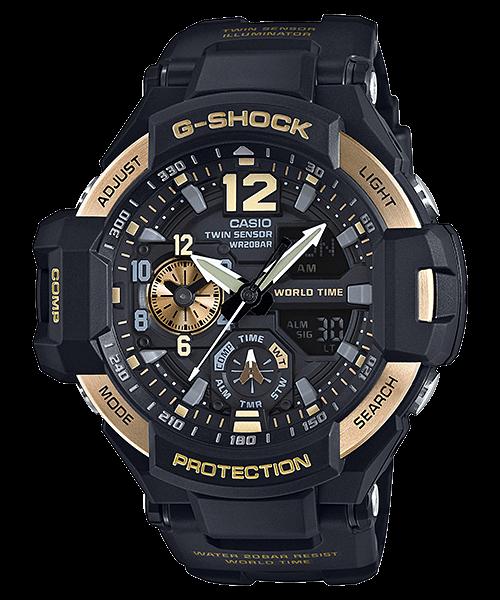 Gold G-Shock GA-1100-9G Gravitymaster