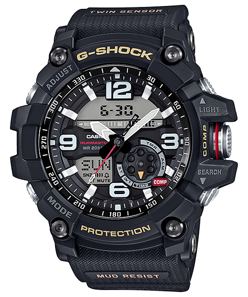 G-Shock Mudmaster GG-1000-1A with Twin Sensor