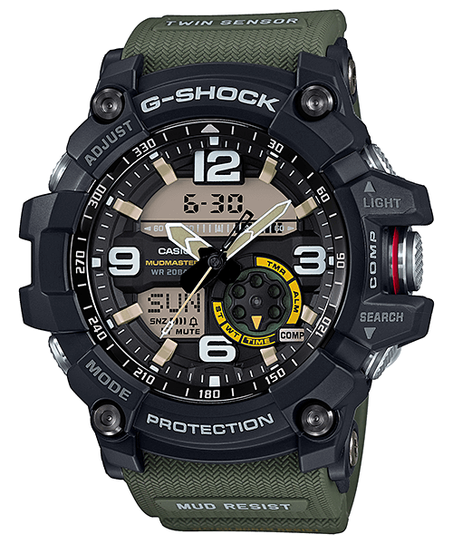 G-Shock Mudmaster GG-1000-1A3 with Twin Sensor
