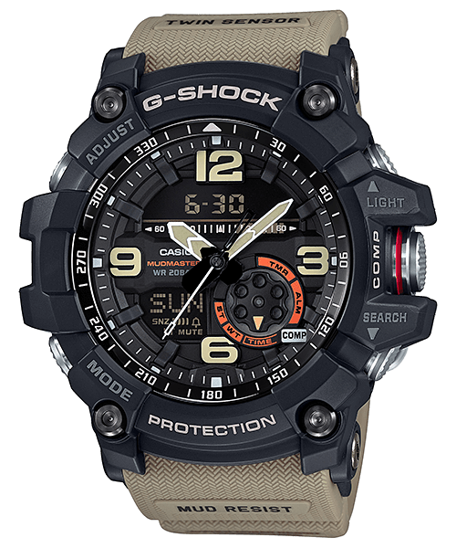 G-Shock Mudmaster GG-1000-1A5 with Twin Sensor