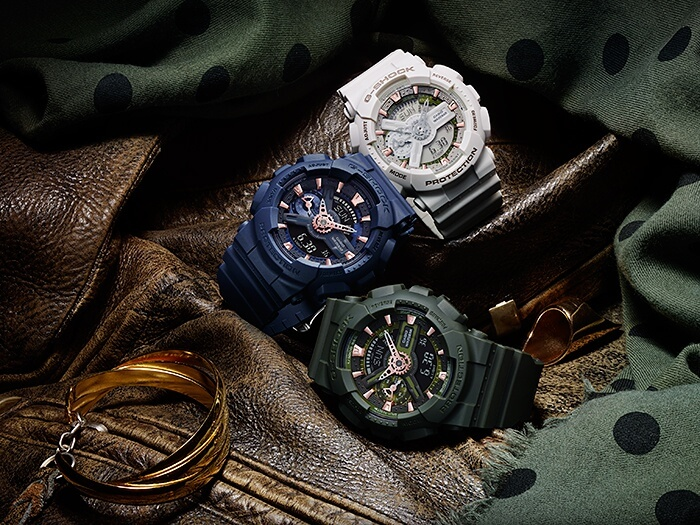 G-Shock S Series GMA-S110CM Matte Color Series