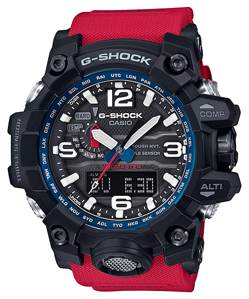 G-Shock GWG-1000RD-4A Rescue Red Mudmaster