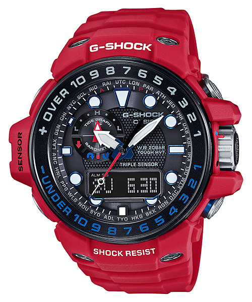 G-Shock GWN-1000RD-4A Rescue Red Gulfmaster