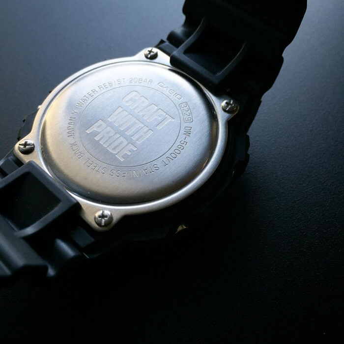 Neighborhood x G-Shock Case Back