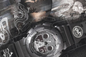 Qusai x G-Shock Limited Edtion GA-100 Watch