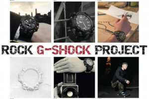 Rock G-Shock Project