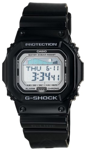 Black G-Shock GLX5600-1 Tide and Moon Surfing Watch