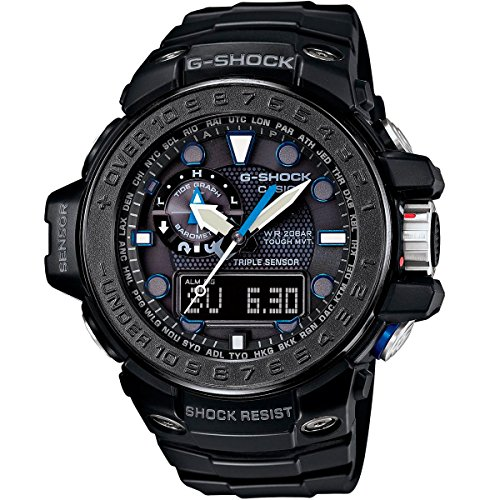 G-Shock GWN-1000 Gulfmaster with Tide Chart and Moon Data
