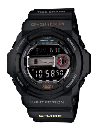 G-Shock GLX-150-1 with Tide Chart and Moon Graph