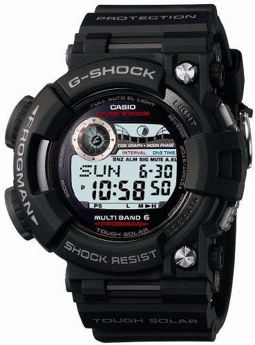 G-Shock Frogman GWF-1000 with Tide Graph and Moon Phase Graph