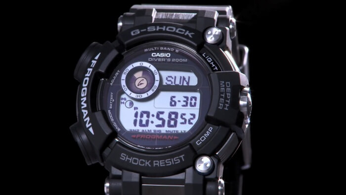 Casio G-Shock Frogman GWF-D1000 Watch With Depth Meter 2016