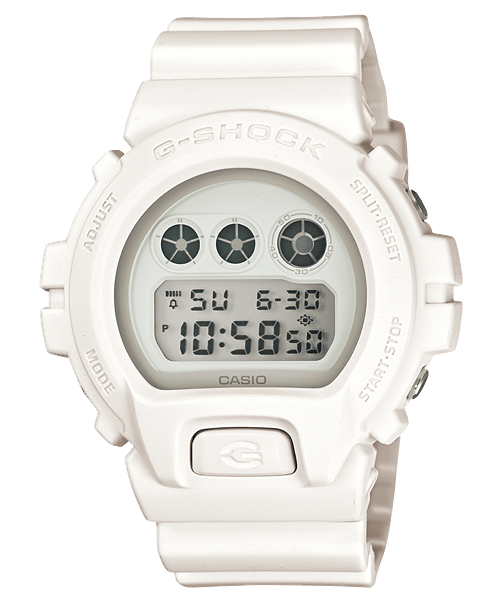White G-Shock DW6900WW-7