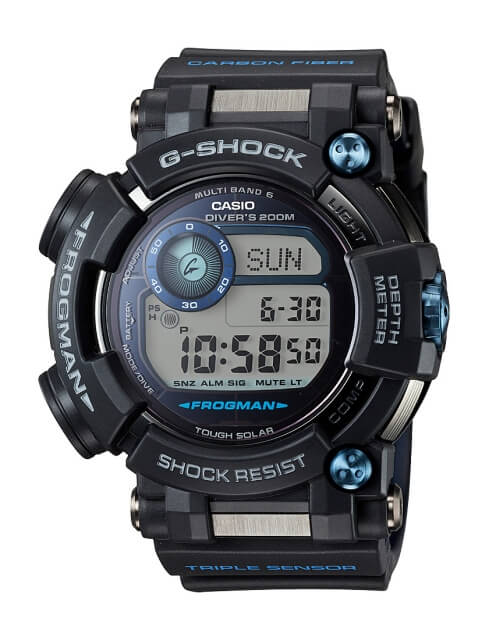 G-Shock GWF-D1000B-1 Frogman with Compass