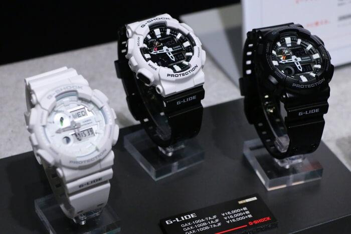 G-Shock GAX-100B-1A GAX-100B-7A GAX-100A-7A