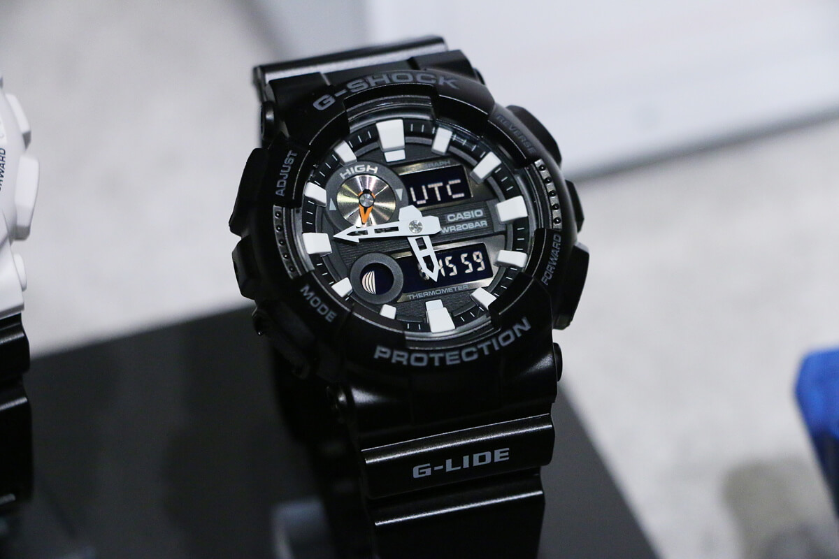 2ec3034cfaa G-Shock G-LIDE GAX-100 Watch with Tide, Moon, Thermometer – G ...