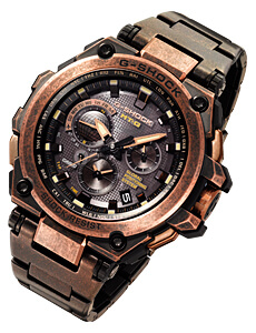 G-Shock MTG-G1000AR Aged IP Rose Gold