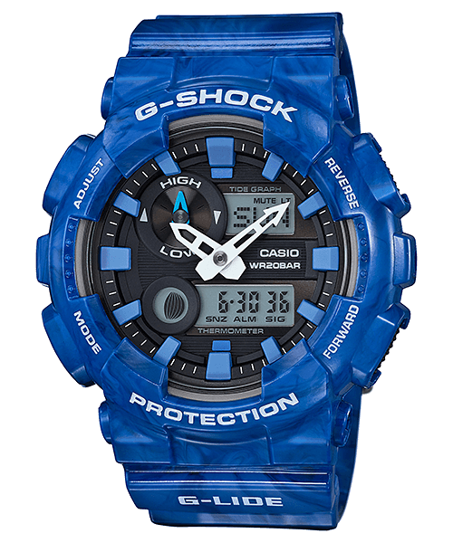 G-Shock GAX-100MA-2A with Tide Moon and Thermometer