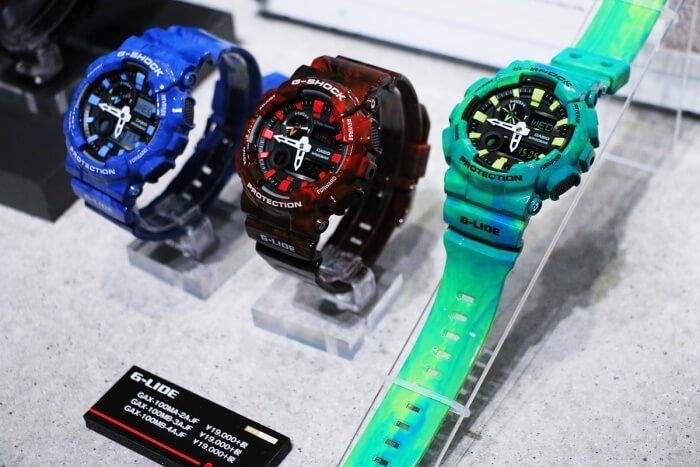 G-Shock GAX-100MA-2A GAX-100MB-3A GAX-100MB-4A