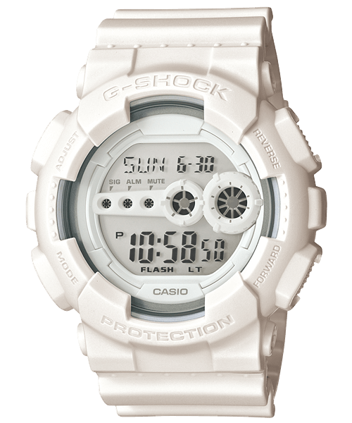 White G-Shock GD100WW-7