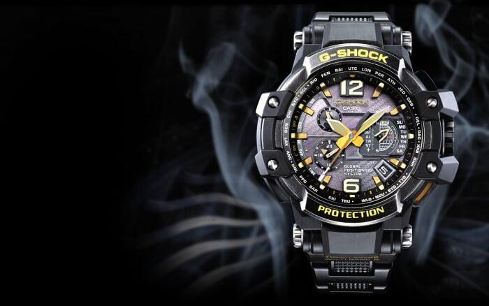G-Shock Gravitymaster GPW-1000VFC Silver Aged IP