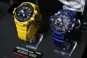 GWN-1000H-2A and Yellow GWN-1000H-9A G-Shock Gulfmaster