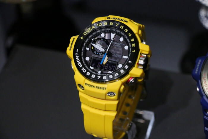 G-Shock GWN-1000H-9A Yellow Gulfmaster