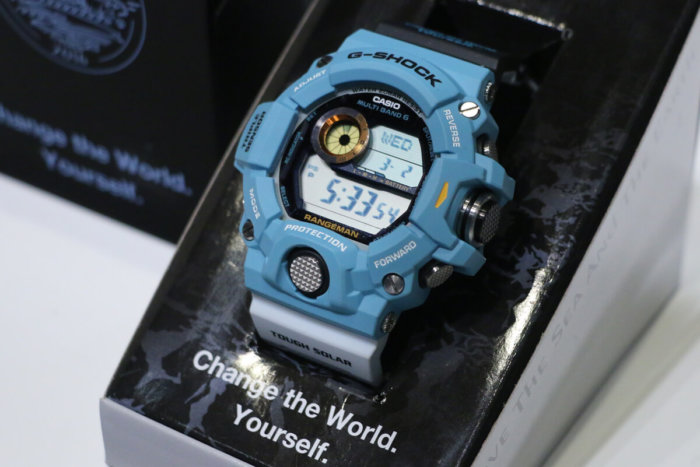 G-Shock GW-9402KJ-2JR Rangeman Love The Sea And The Earth 2016 Earthwatch