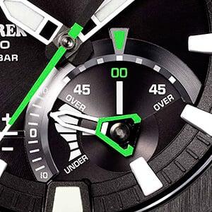 Casio Pro Trek PRW-7000 subdial