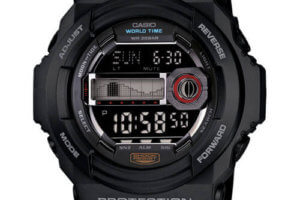 Casio G-Shock Watches with Tide Graph and Moon Chart