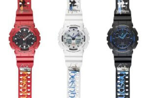 G-Shock Istabnbul 2016 GA-100 Watches Bosphorus Bridge