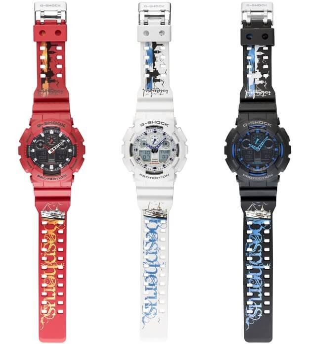 G-Shock Istabnbul 2016 GA-100 Watches Bosphorus Bridge